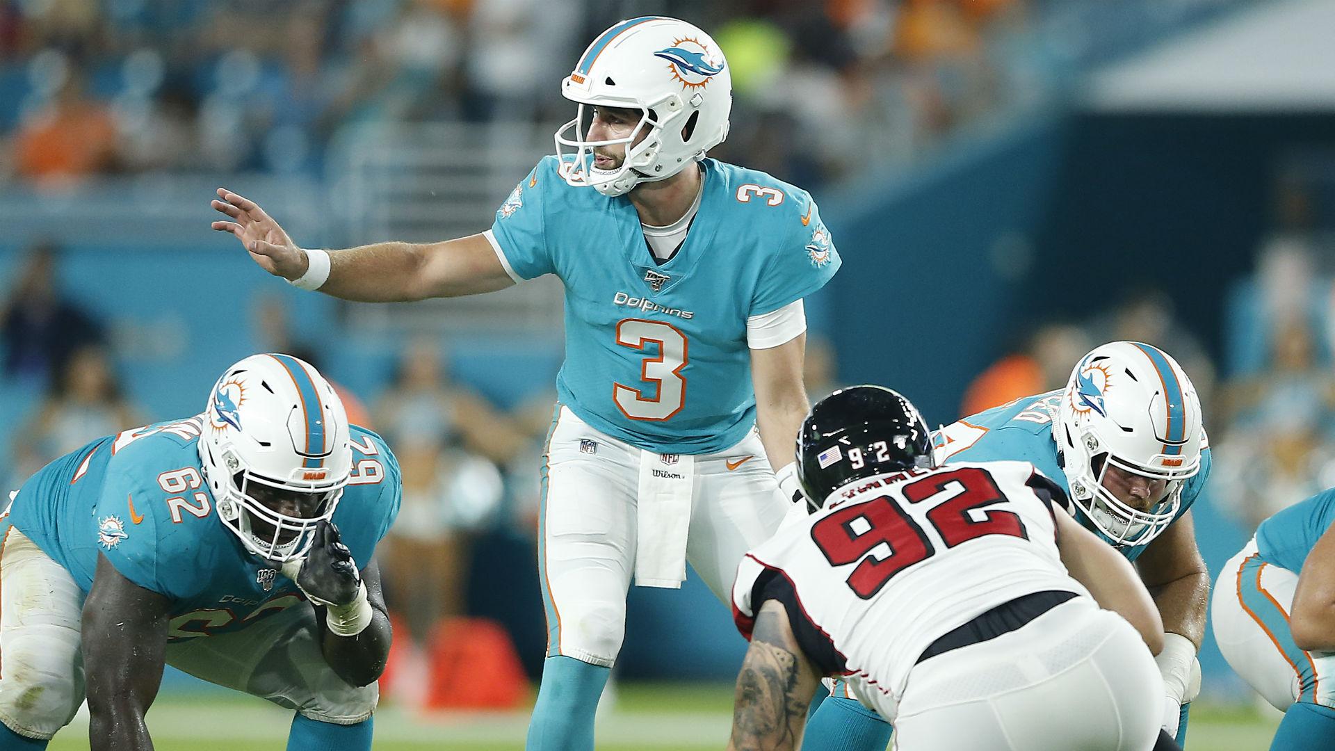 0e3687f2 Brian Flores wants Dolphins quarterback Josh Rosen 'to play smarter ...