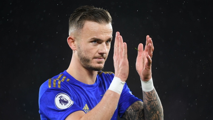 Leicester midfielder James Maddison is a target for Arsenal