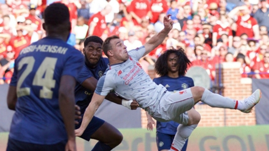 'That's not normal!' – Klopp stunned by Shaqiri's overhead kick
