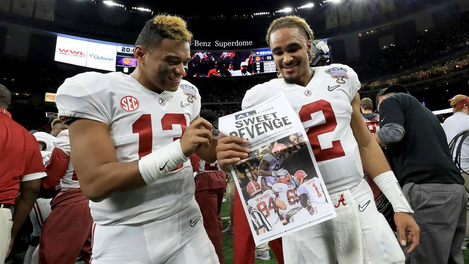 Image result for tua and hurts