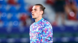 Andriy Lunin has been an unused substitute in Real Madrid's first two games this season