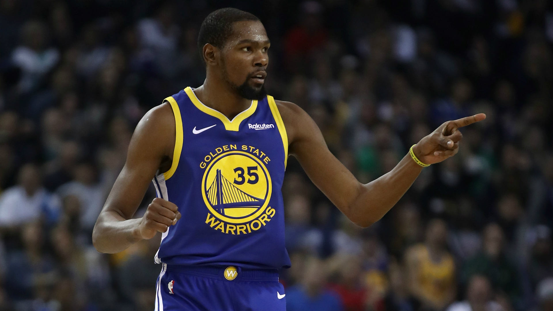 1e9736c6ad9 Kevin Durant excited by Stephen Curry return after inspired display fails  to deny Raptors