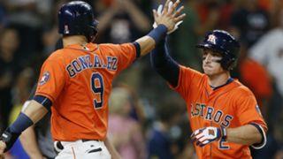 Astros' Marwin Gonzalez, Alex Bregman