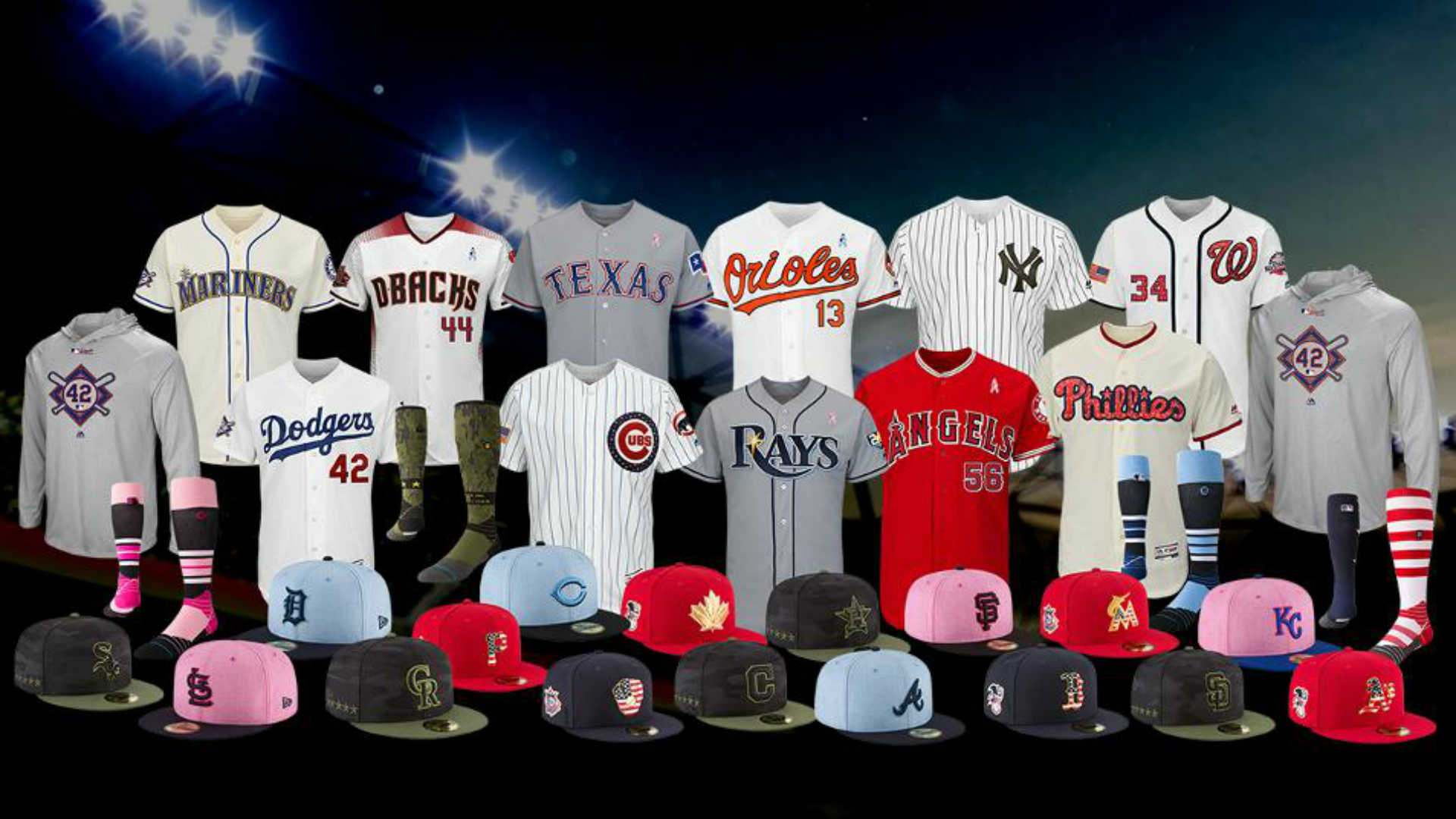 ba217cf6 MLB unveils holiday, special-event uniforms for 2018 | Sporting News