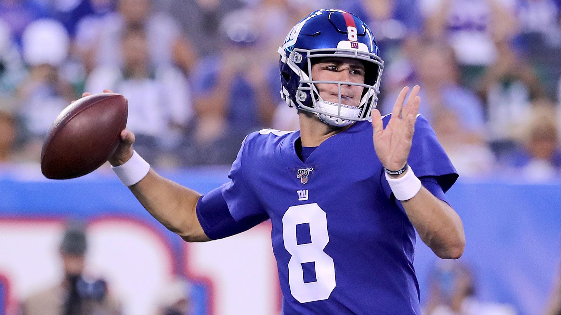 Giants reportedly not planning to have open QB competition despite Daniel Jones' preseason success
