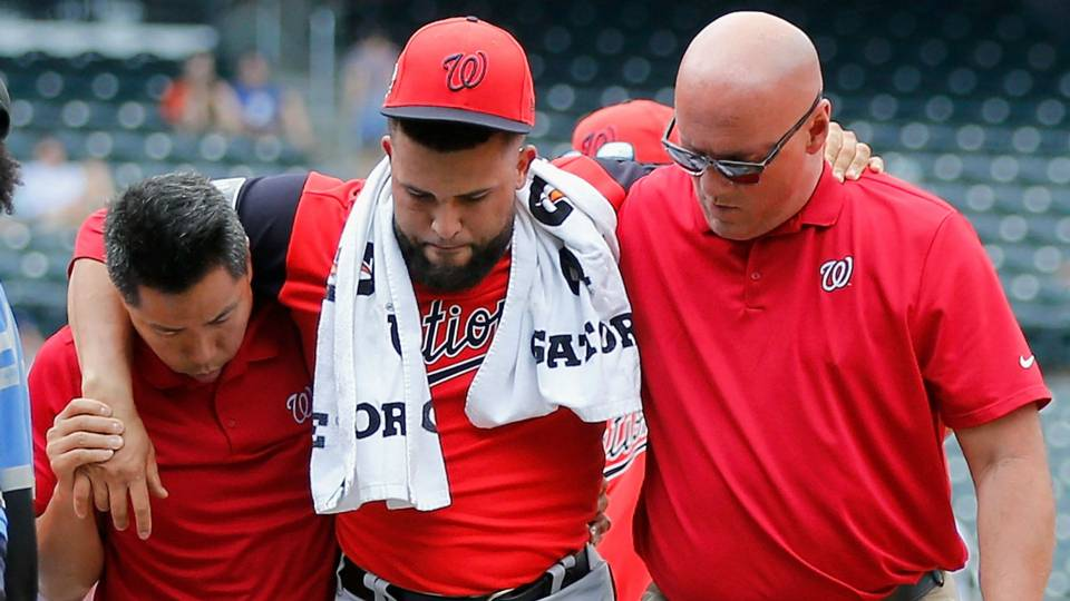 Kelvin Herrera injury update: Nationals closer has torn ligament in foot