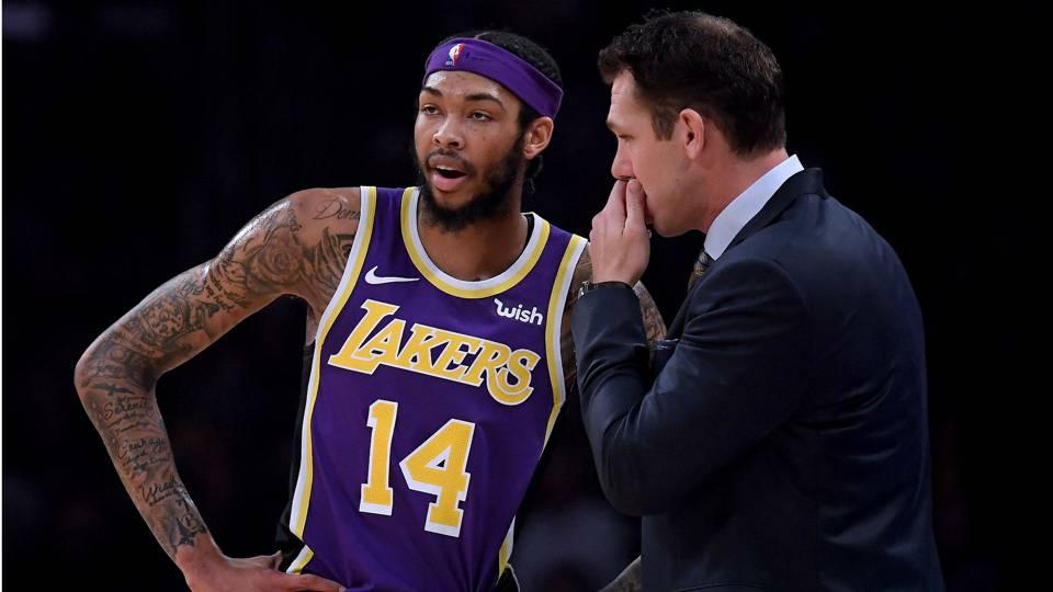Lakers need 'more passion' from Lonzo Ball, Brandon Ingram, coach Luke Walton says