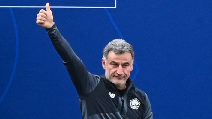 Christophe Galtier is leaving French champions Lille