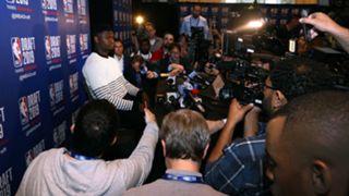 Zion Williamson at NBA pre-draft media availability