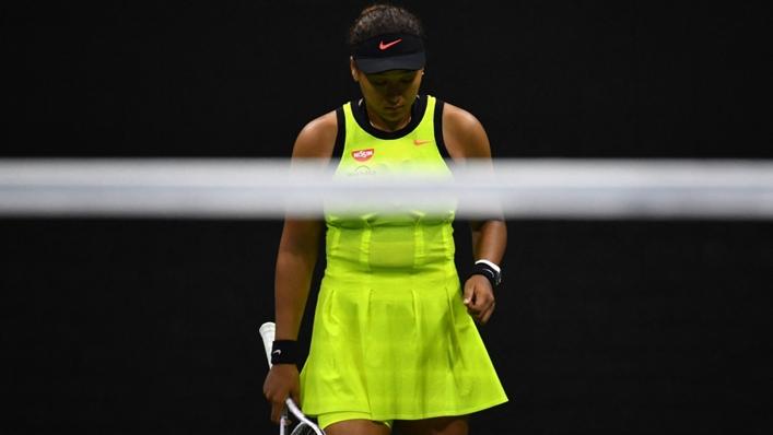 Japanese star Naomi Osaka during the US Open