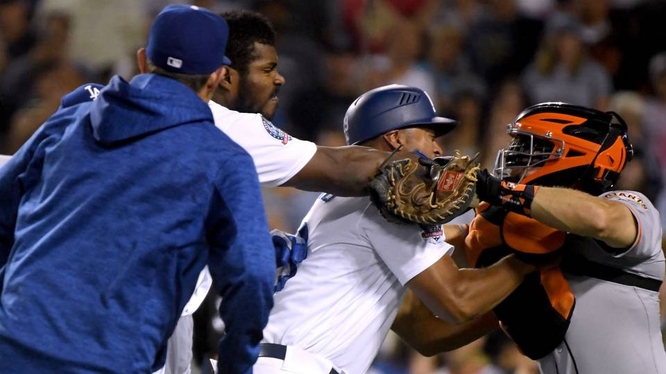 Yasiel Puig's appeal denied, two-game suspension upheld for Giants scuffle