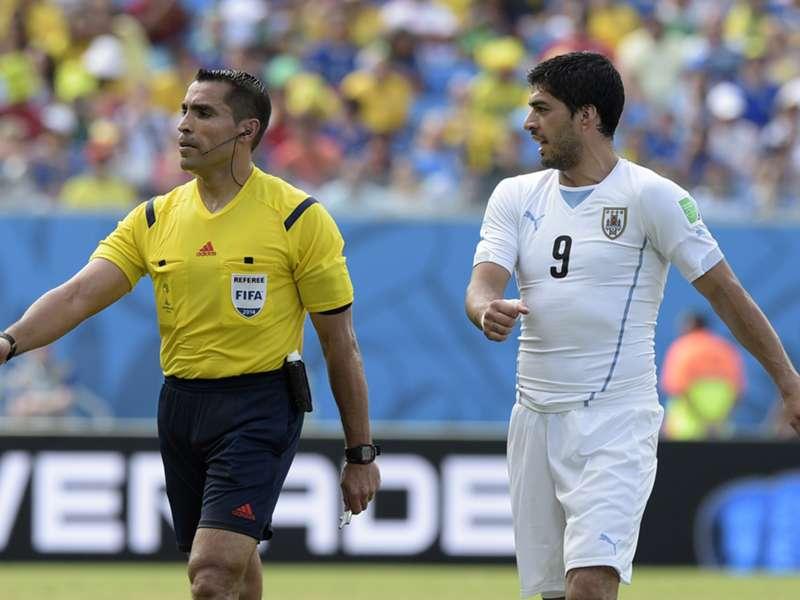 Suarez bite referee to officiate Brazil-Germany