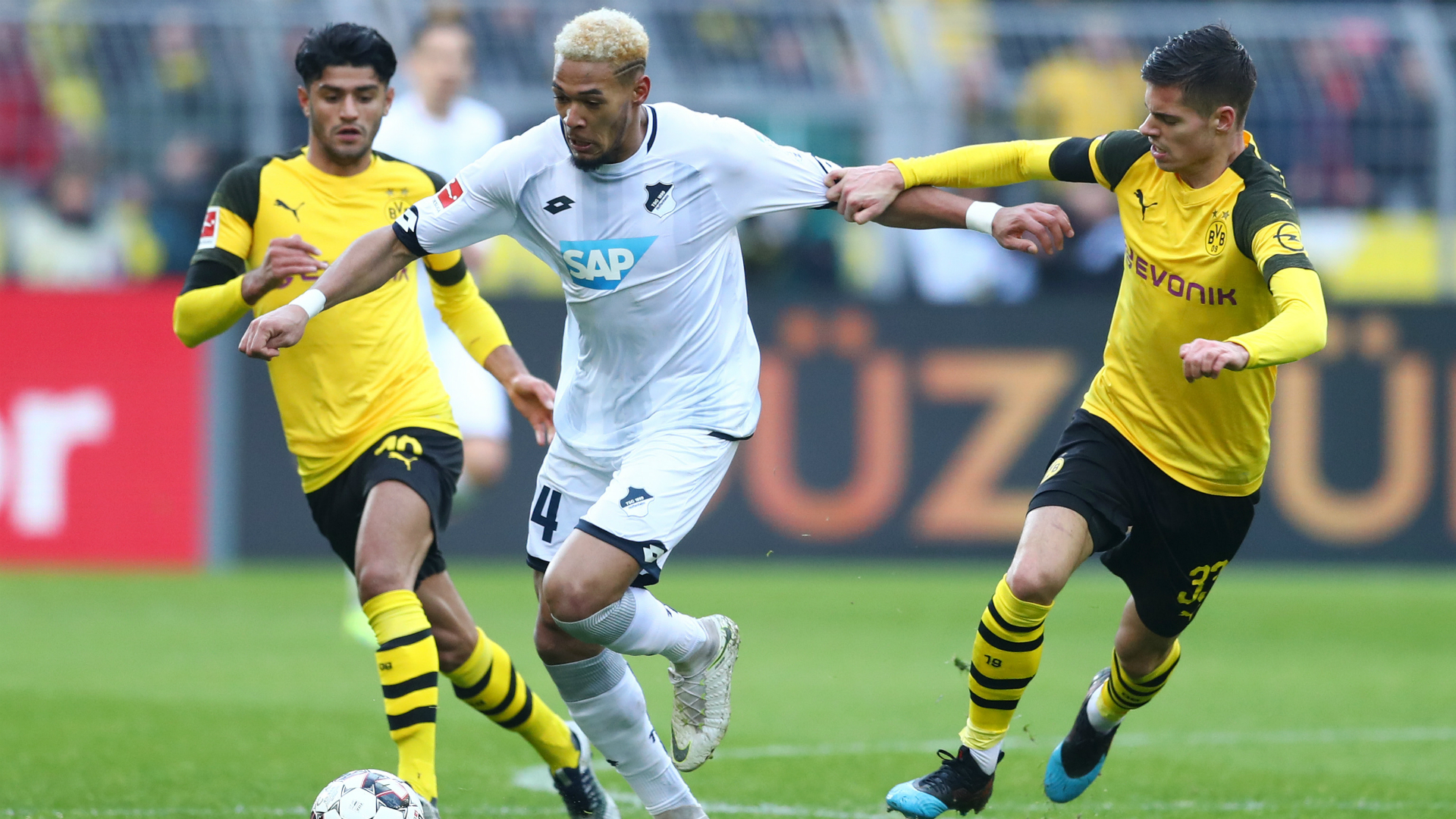 Dortmund waste three-goal lead to draw 3-3 with Hoffenheim