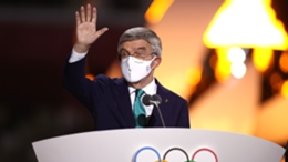IOC chief Thomas Bach brought Tokyo 2020 to a close on Sunday
