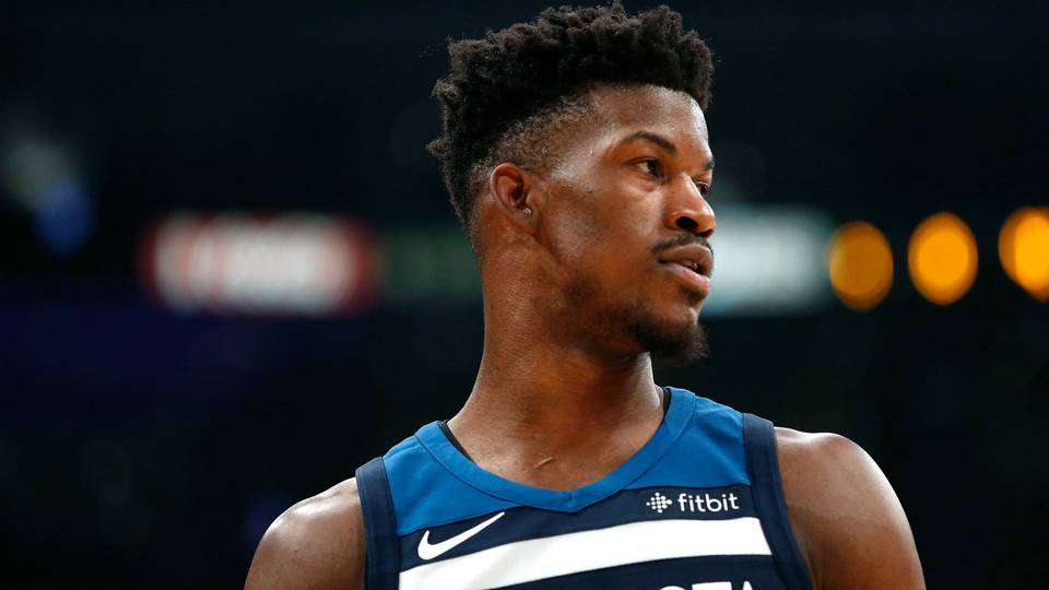 Timberwolves forward Jimmy Butler ruled out Sunday vs. Trail Blazers