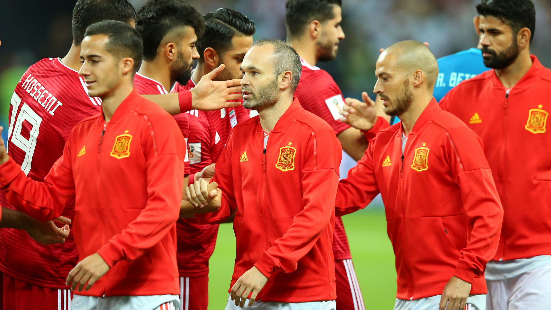 Spain book Russian Federation meeting with Morocco draw