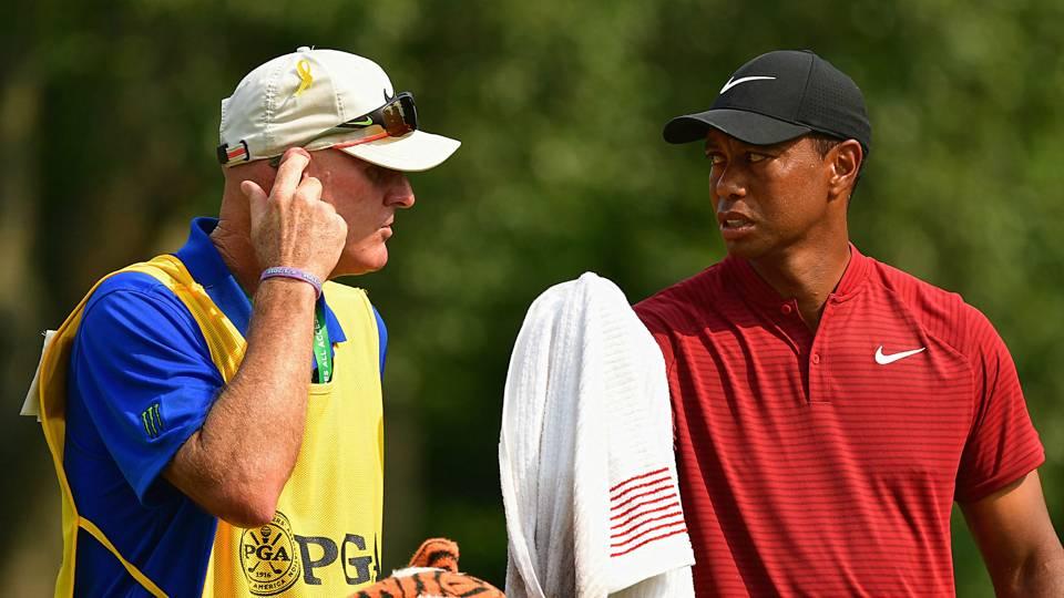 Tiger Woods' caddie tried to pay heckler to leave WGC-Bridgestone Invitational
