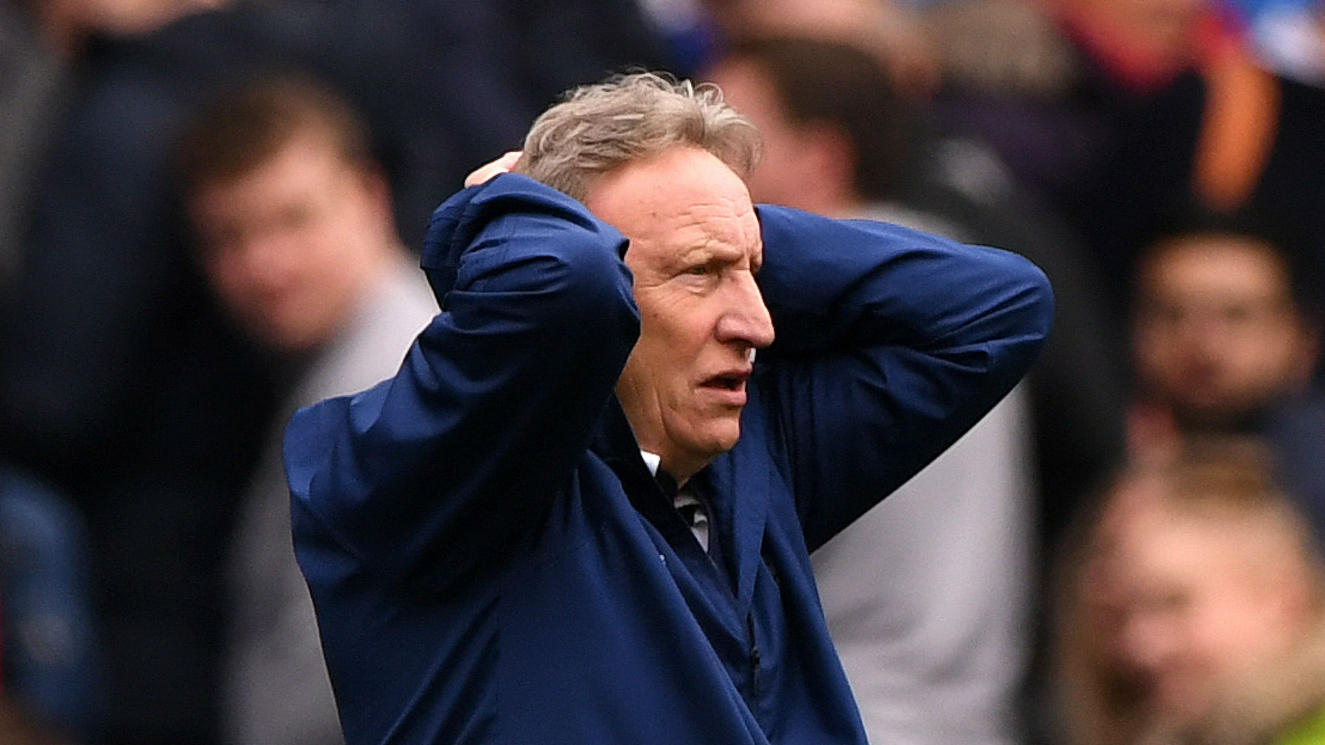 Warnock charged over criticism of Premier League referees | AP sports