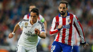 Javier Hernandez and Juanfran - cropped