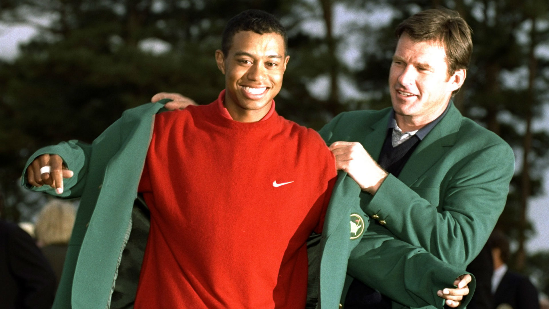 remembering tiger woods u0026 39  1997 masters breakthrough