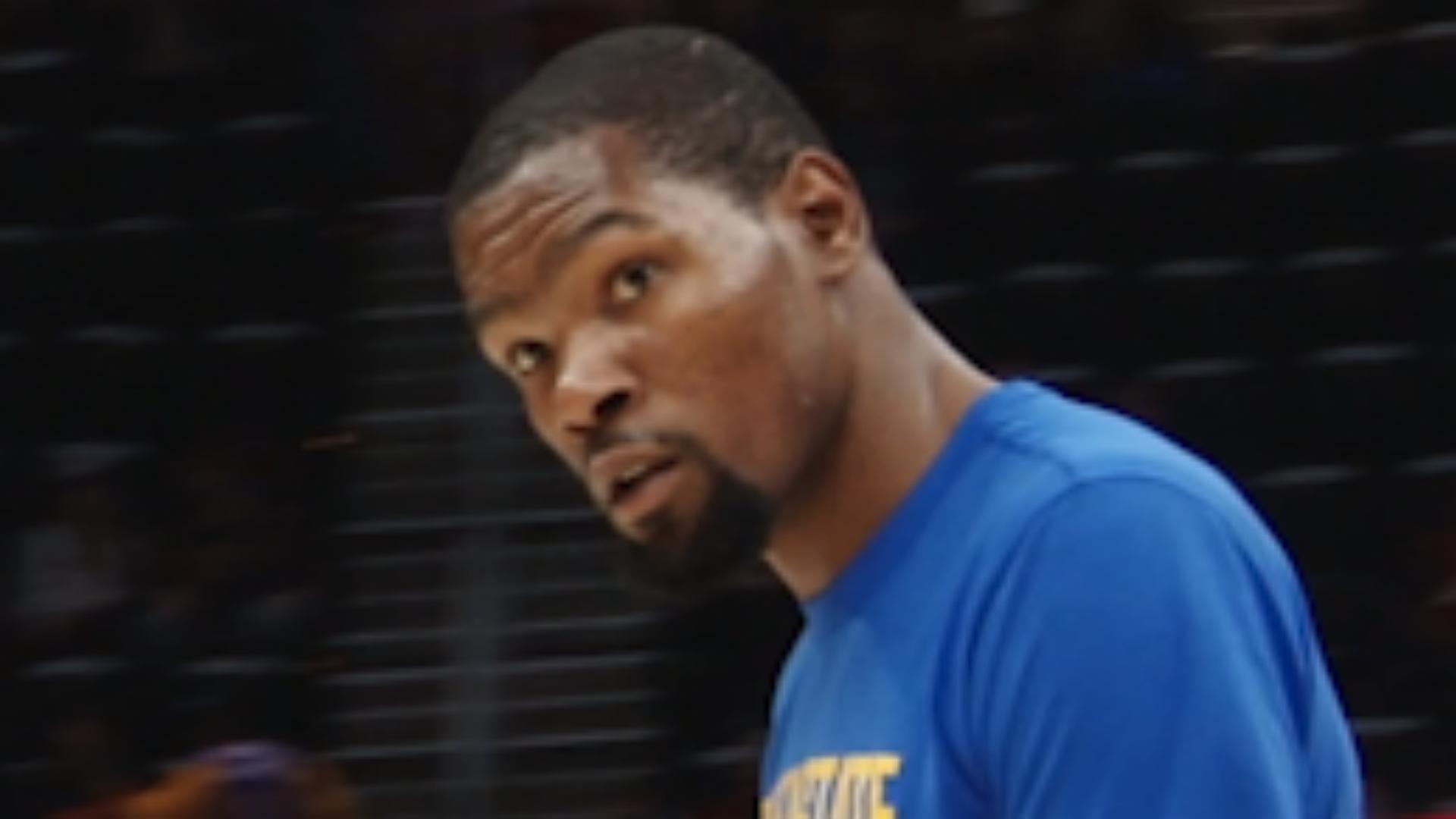 33028ec21bee Browns  Myles Garrett says Kevin Durant  broke  the NBA