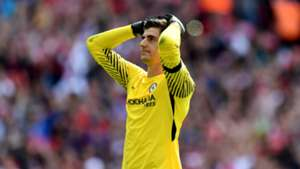 Courtois one of the best penalty takers - Conte defends wild miss