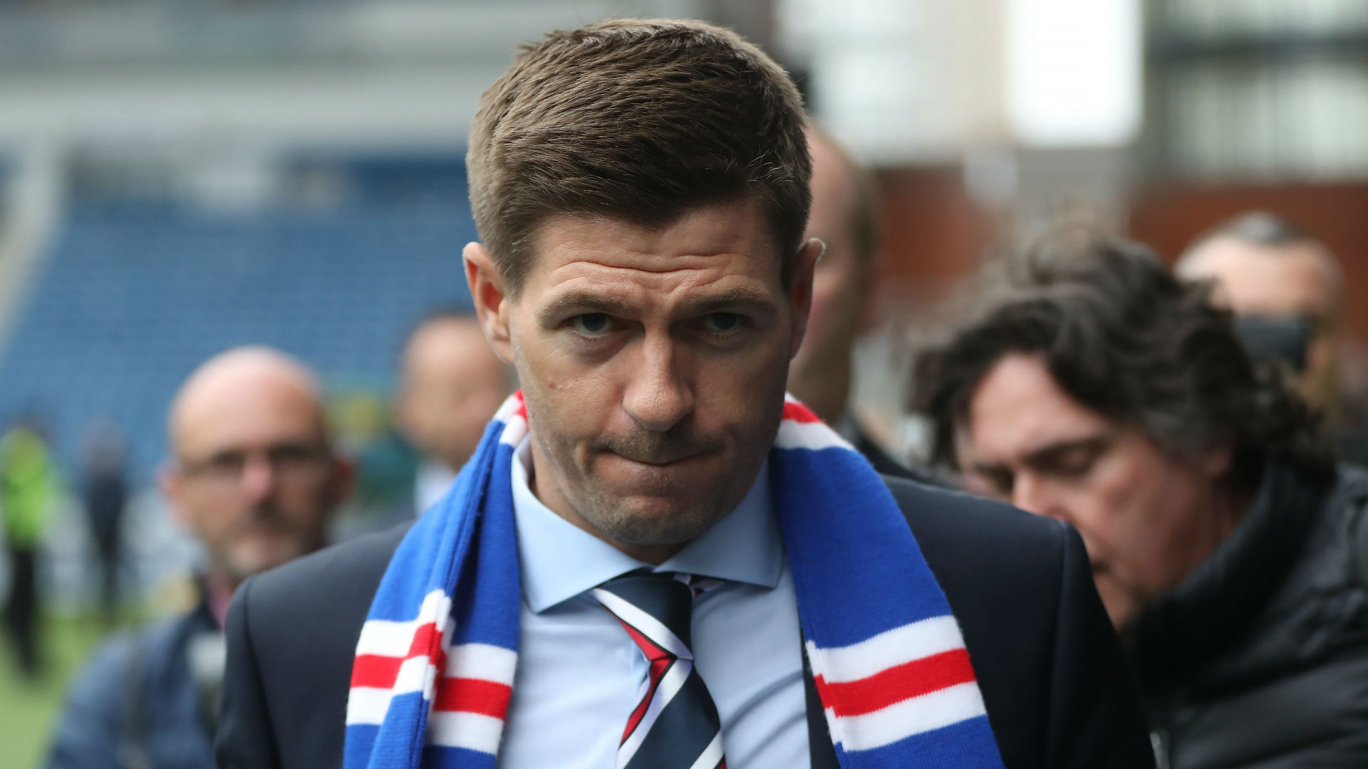 Steven Gerrard 'delighted' to make first Rangers signing
