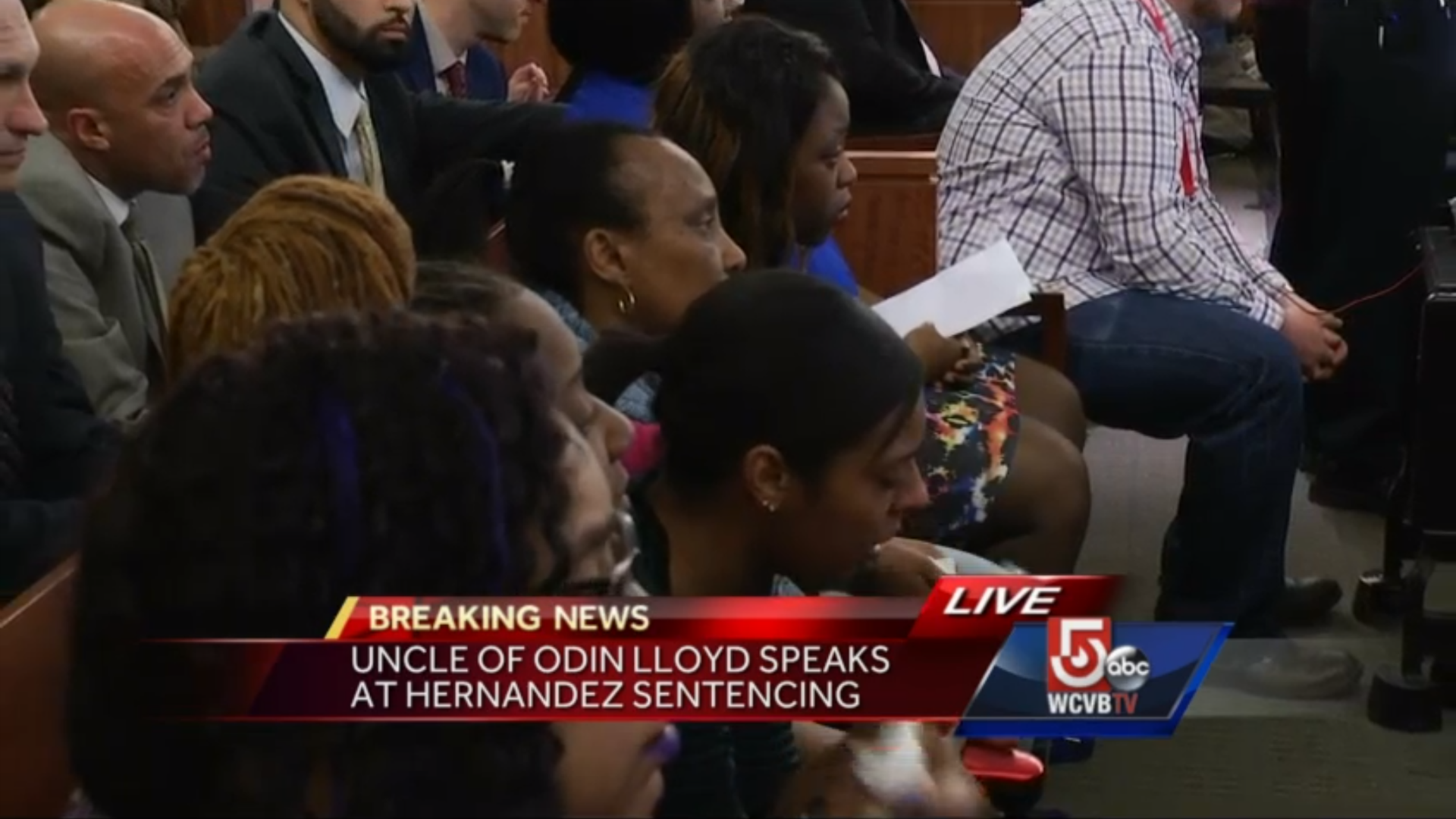 Odin Lloyd's family reacts to Aaron Hernandez's guilty ...