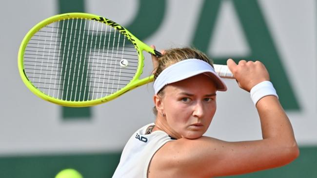Barbora Krejcikova kept her cool when it mattered most at Roland Garros