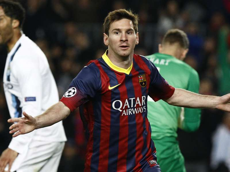 Nasri: Messi, Ronaldo play in 'own galaxy'