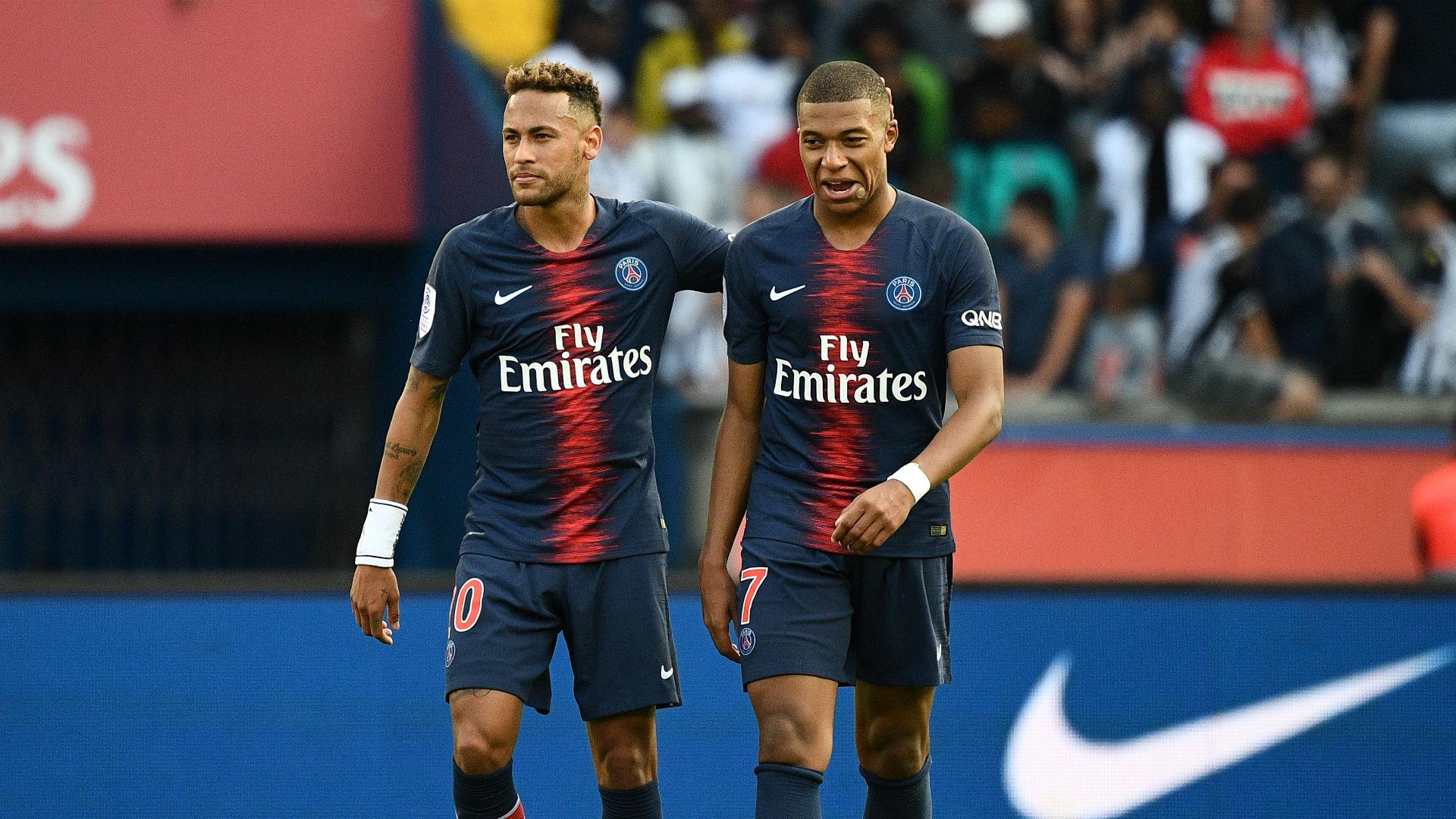Psg News Neymar V Mbappe Rivalry Not Real Meunier Sporting News