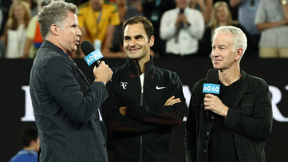 'He's scared of me' – Will Ferrell reveals Roger Federer's fears