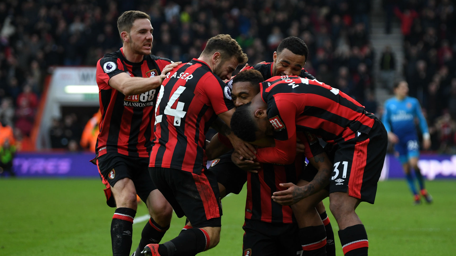 Bournemouth register first-ever win over sorry Arsenal