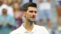 Novak Djokovic after the US Open final