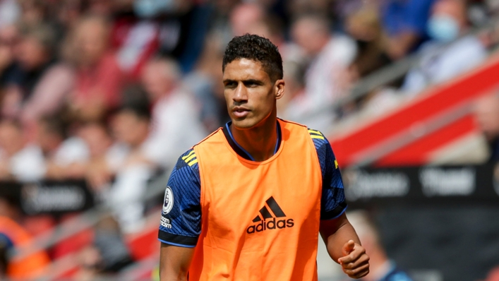 Raphael Varane joined Manchester United from Real Madrid earlier this month