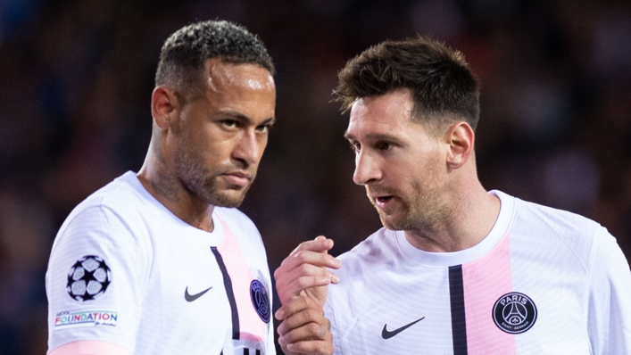 Neymar and Lionel Messi struggled to make an impact for PSG