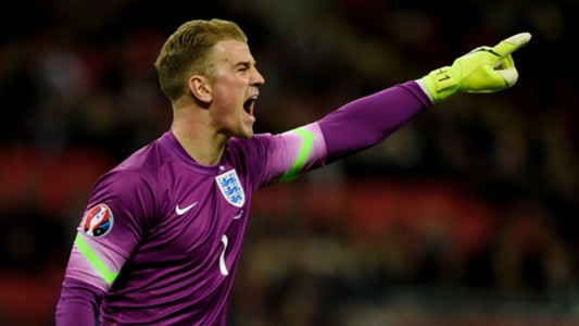 Joe Hart England - Cropped