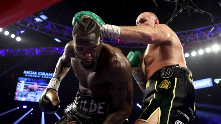 Deontay Wilder came up short against Tyson Fury in their second fight in February 2020