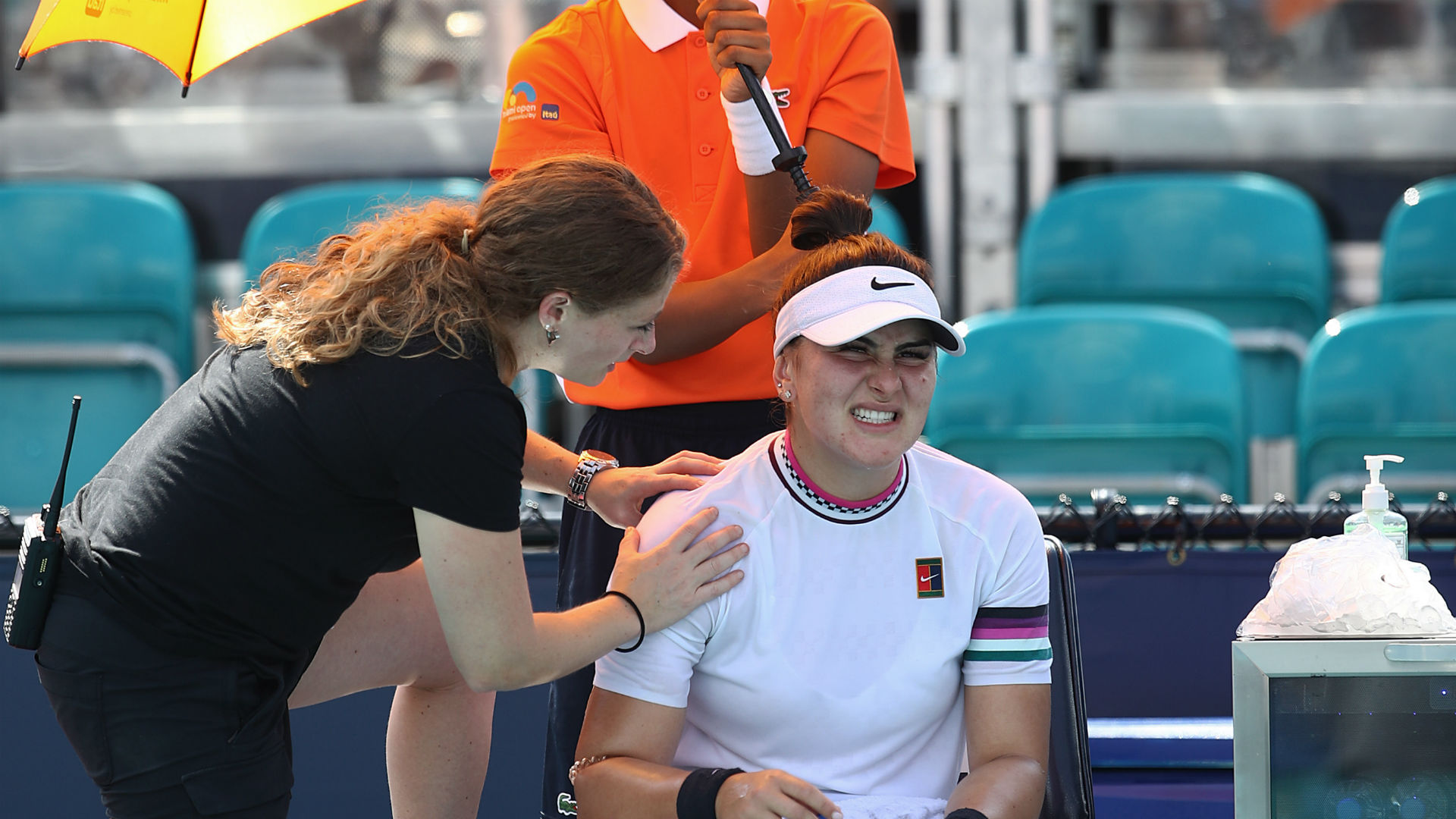 No Fed Cup return for injured Bianca Andreescu