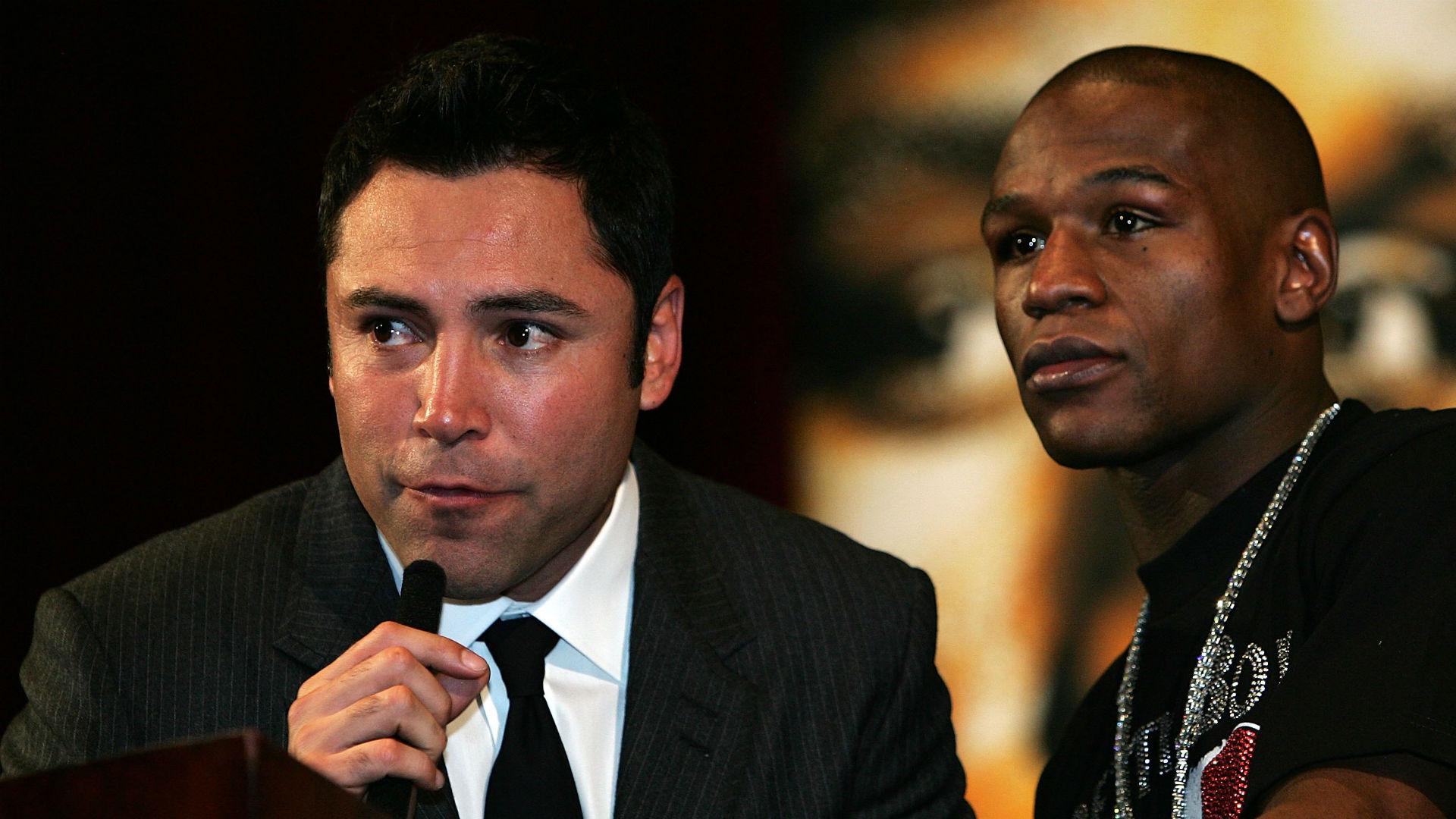 Oscar De La Hoya pens scathing open letter to Floyd Mayweather