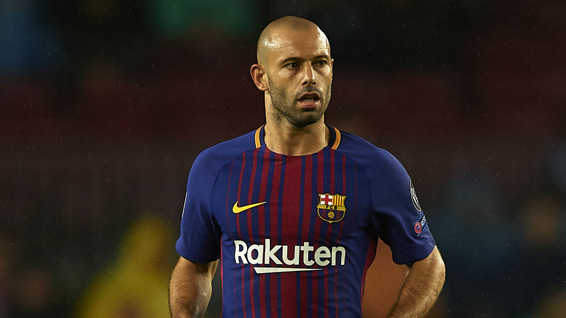 Barcelona's Mascherano refuses to rule out Argentina move