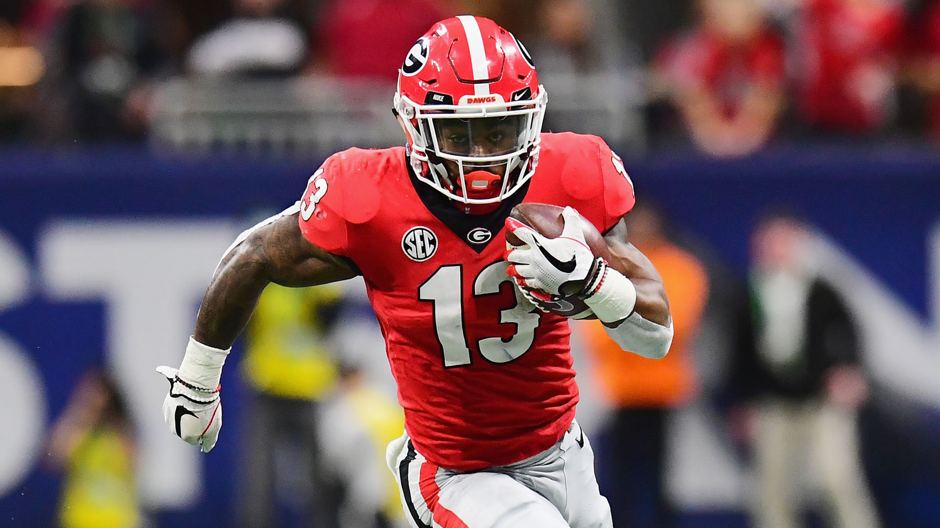 size 40 fae68 0cac2 Georgia RB Elijah Holyfield will enter 2019 NFL draft ...
