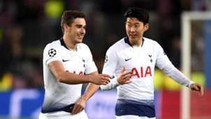 Harry Winks and Son Heung-min - cropped