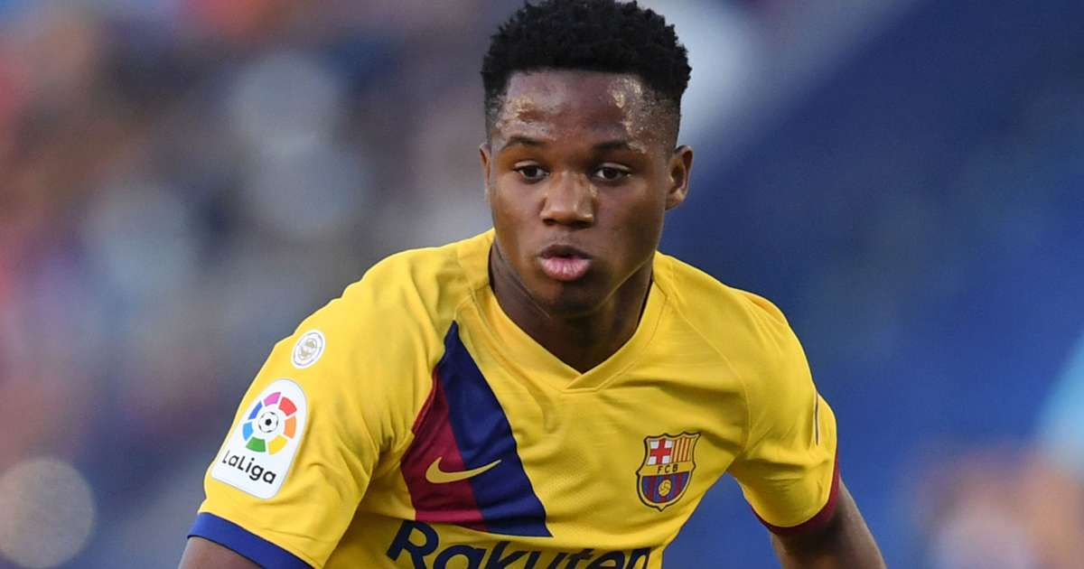 Ansu Fati And Adama Traore Called Up To New Look Spain Squad