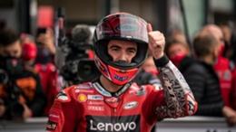 Francesco Bagnaia is aiming to close the gap on Fabio Quartararo