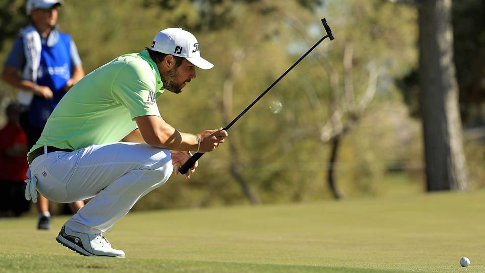 Shriners Hospital for Children's Open: Peter Uihlein leads crowded field after two rounds