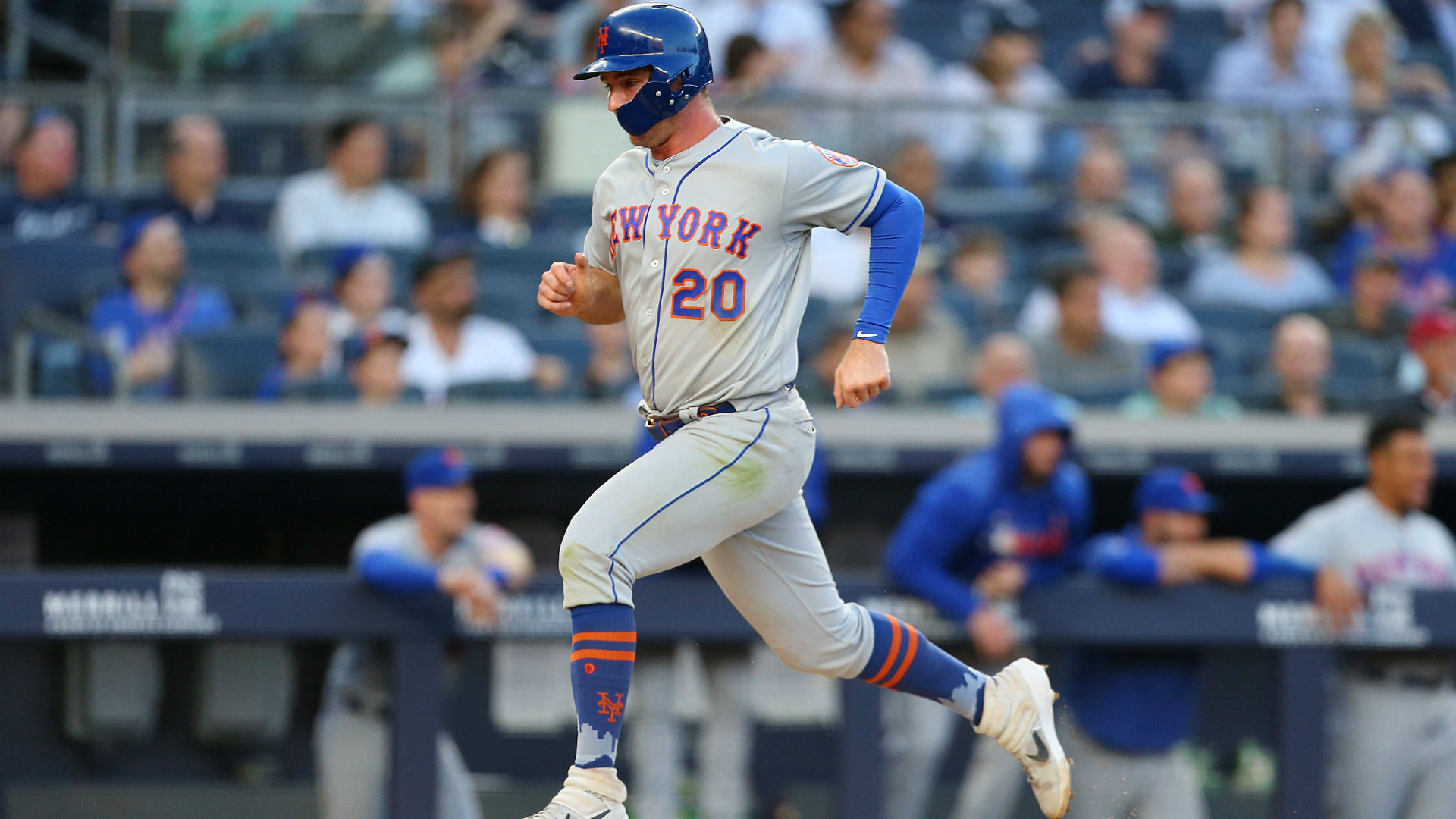 Mets, Yankees trade double-digit scores to split DH ...  Yankees