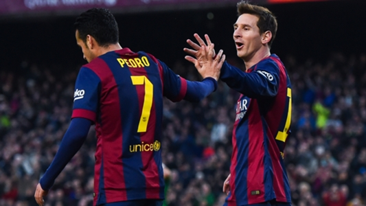 Messi the best but 'not invincible', says Pedro