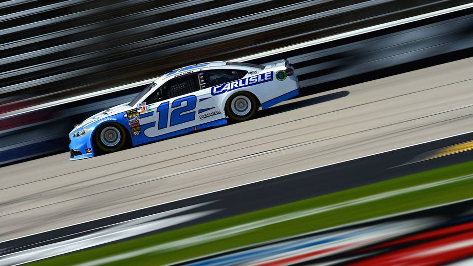 NASCAR starting lineup at Texas: Ryan Blaney wins third pole of season