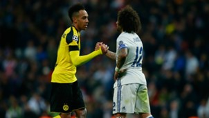 pierre emerick aubameyang marcelo - cropped